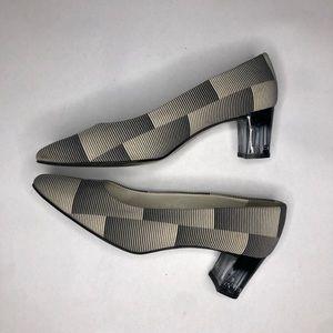 Balenciaga Low Heel Pumps Size 37.5 US W 7.5